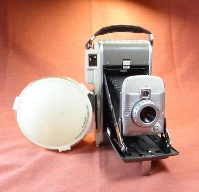 Polaroid 80A Highlander Instant camera with flash nice condition