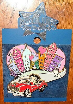Betty Boop Sliding Universal Studios Trading Pin 3 1/2 inch