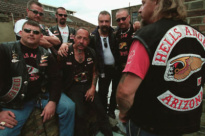 Hells Angels Motorcycle Gang Sonny Barger & Members Glossy 8x10 Photo