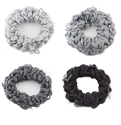 Rope Scrunchie  Butterfly Decor Endless Hair Bobbles Ponytail Holder Hair Band
