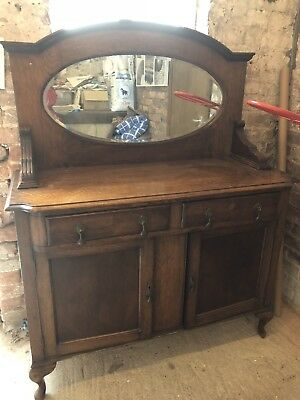 Victorian Sideboard with detachable Mirror
