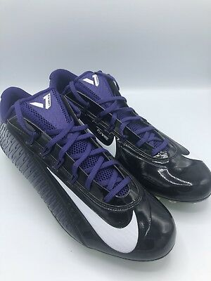 293baf0cc5 Men s Nike Vapor Carbon Elite 2.0 Td Sz 14 Football Cleats Black pur 657441  003