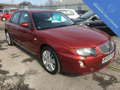 2005 05 Rover 75 2.5 Contemporary Se V6 4D Automatic, Metallic Cherry Red