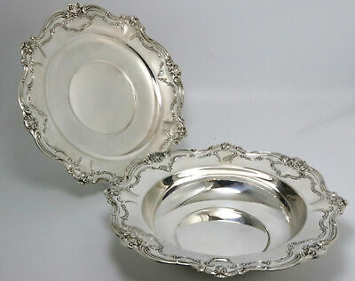 Gorham Chantilly Duchess Sterling Silver Bowl & Tray