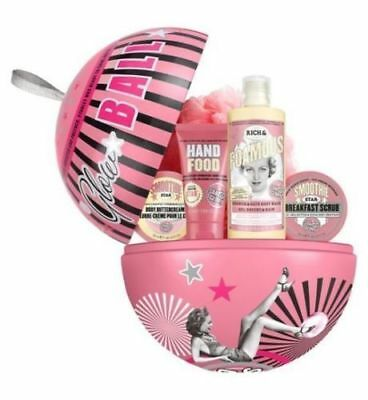 "Soap And & Glory GLOW - BALL - Christmas Gift Set """"CHEAPEST ON E-BAY"""" NEW"