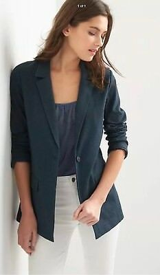 Gap Women's Navy Ponte Blazer ~ NWT XL