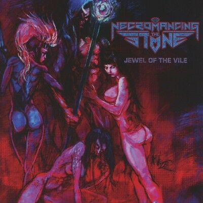 Necromancing The Stone - Jewel of the Vile CD Metal Blad NEW