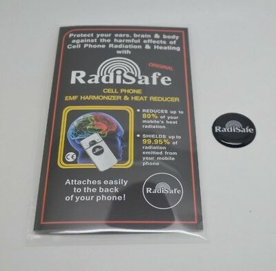3 x Mobile Phone Anti Radiation Stickers RadiSafe EMF Shield UK Stock