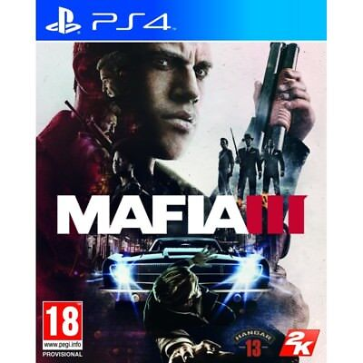 Mafia III PS4 New & Sealed
