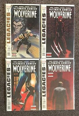 Marvel Ultimates Comics Wolverine 1,2,3,4 Complete Set VF/NM Cullen Bunn Messina