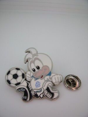 Pin's Pins Pin Badge OM OLYMPIQUE MARSEILLE AC MILAN 1993 Coupe Europe Football
