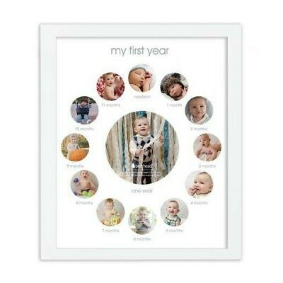 Pearhead First Year Frame for Baby Keepsake Photo Frame Free Shipping