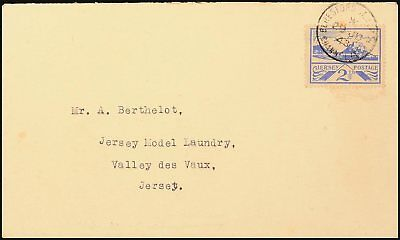 8522) Jersey 7y Brief Ersttagsstempel BERESFORD ST. JERSEY CHANNEL IS. 29.6.43