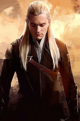 LORD OF THE RINGS HOBBIT LEGOLAS    3.5 X 2.5 inches poster fridge magnet