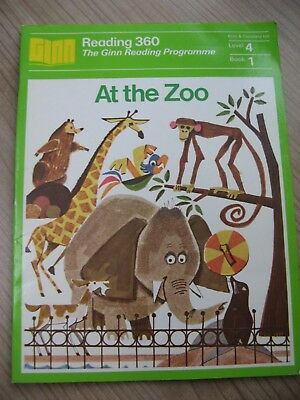 Reading 360 The Ginn Reading Programme At The Zoo Childs Learn Reading Book