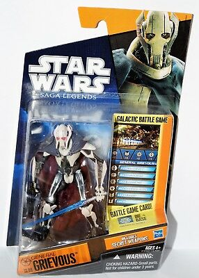 STAR WARS Saga Legends General Grievous Hasbro Ungeöffnet