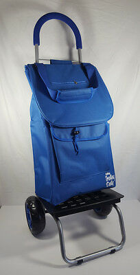 Brand New Trolley Dolly Blue Foldable Shopping / Grocery Cart