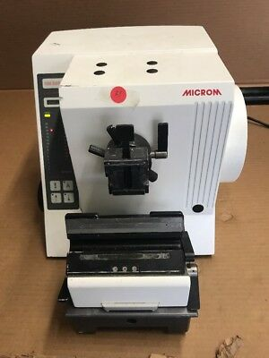Thermo / Microm HM 335 E Electronic Microtome (Sold for Parts only)