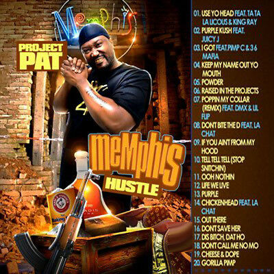 Best Of Project Pat Mixtape DJ Compilation Mix CD
