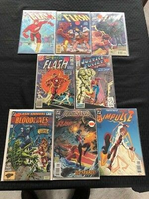 FLASH LOT OF 8 Assorted Titles