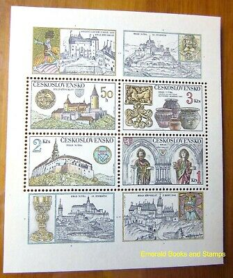 EBS Czechoslovakia 1982 Treasures of Castles & Chateaux Block 50 MNH**