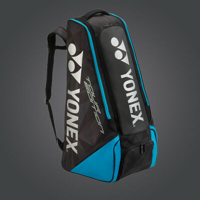 New 2018  Yonex BAG9813EX Pro Stand Bag Black/Blue (188)