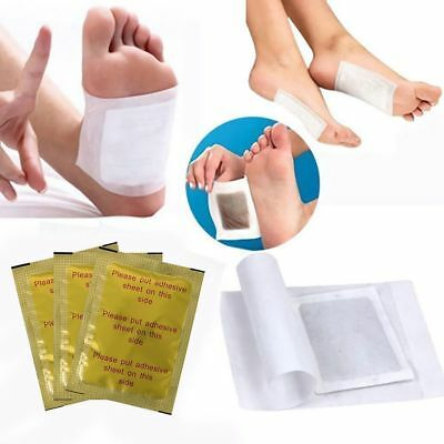 10/20/50/100 x Gold Foil Detox Foot Patches Improve Sleeping Weight Loss
