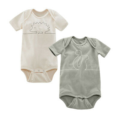 Living Crafts Baby Body Kurzarm 2er-Pack Bio-Baumwolle