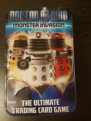 Dr.Who Monster Invasion trading cards(tin)