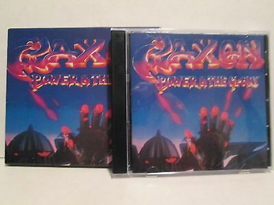 Saxon - Power & The Glory 1983/99 W/Slip Cover Axe Killer Records Rare OOP HTF