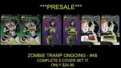 Zombie Tramp -Ongoing-#48 -*full 6 Cover Set* !!! Pre-Sale !!! **new Acton Lab**