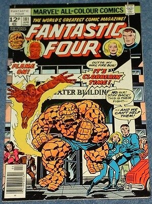 FANTASTIC FOUR # 181 182 183 184 185 186 187 188 189 190 (Marvel 1977)