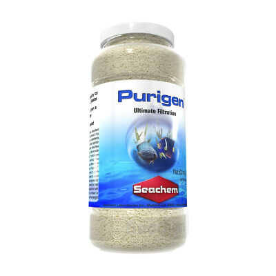 Seachem Purigen 500 Ml For Marine And Fresh Water. **Free Shipping**