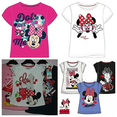 Wholesale Job Lot 30 x NEW Mixed Style Disney MINNIE MOUSE Tops/T-Shirts