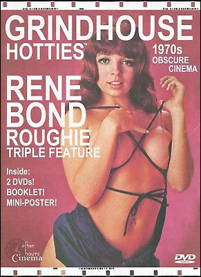 Grindhouse Hotties Triple Feature: Rene Bond (2 DVD - Liner Notes - Mini Poster)