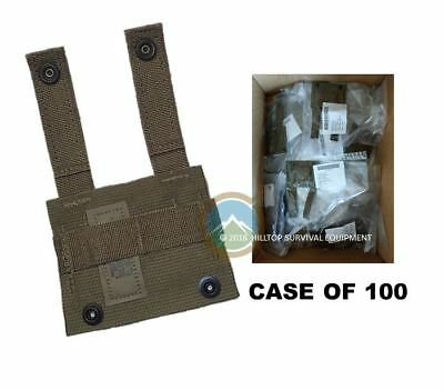 US Military MOLLE KBAR Adapter  -  Case of 100  -  New -  Coyote Brown / Tan