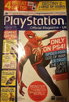 PLAYSTATION OFFICIAL MAGAZINE UK - ISSUE 143  2017 With free gifts