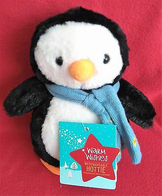 Huggable Hottie - Plush Penguin - Lavender Scented - Microwaveable - Gift - New