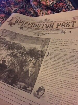 The Spiffington Post: The Steampunk Empire's Premier Newspaper, First  Edition