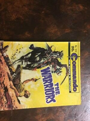 1. very old Commando war comic. 1812 The Warriors