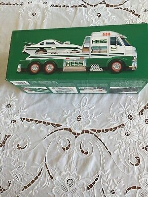 2016 Hess Toy Truck and Dragster (New Never out of box)