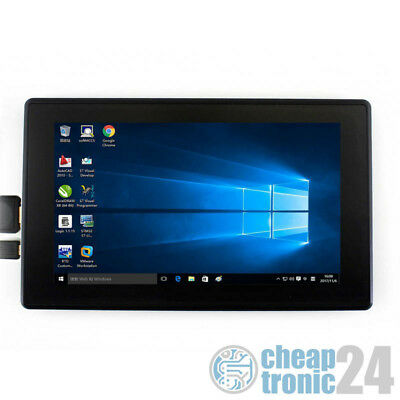 "Waveshare 7"" IPS Touchscreen Kapazitiv HDMI 1024x600 USB Case Raspberry Display"