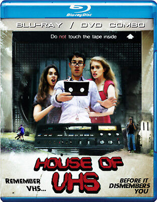 House of VHS Blu-ray + DVD Combo French Horror VCR Supernatural NEW NTSC