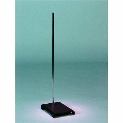 """Laboratory Metal Grip Scientific Support Stand Rod 9""""x6"""" Support Science Work"""