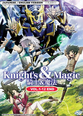 Anime DVD: Knight And Magic *English Version* (Vol.1-12 End) + Extra DVD