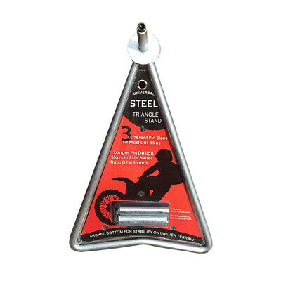 Triangle Stand Multi-Fit Motocross Dirt Bike Enduro Triangle Side Stand Light We
