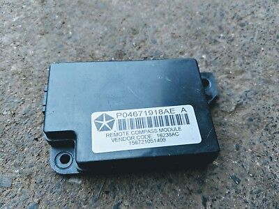 Jeep Patriot 2008 Compass Module P04671918Ae