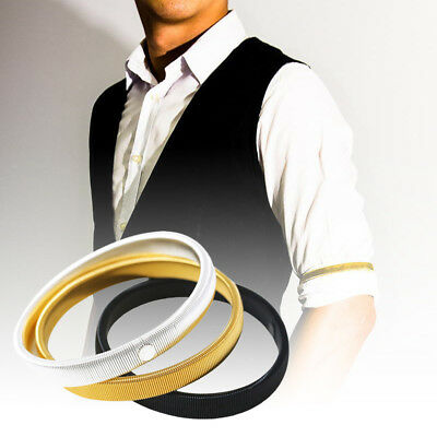 Men Shirt Sleeve  Arm Bands Garter Mens Ladies Elasticated Metal Band Holders