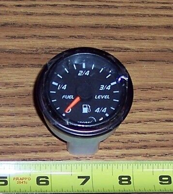Datcon Fuel Level Gauge P/n 121297 ~ 12 Volt Analog For Bus, Truck Rv