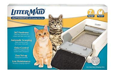 LitterMaid 980 Automatic Multi-Cat Self-Cleaning Litter Box